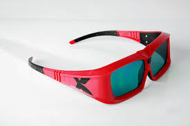 3D Shutter glasses with a high transmission ratio