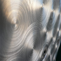 Examination of seam-weldings in aluminum-compounds