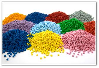 Antibacterial protection of plastic materials