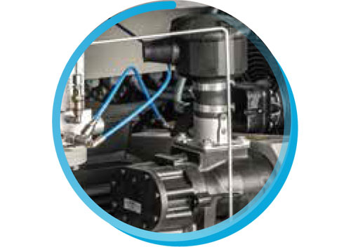 Production of oil-free screw compressor