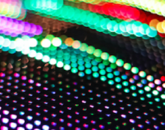 micro LEDs for industrial application