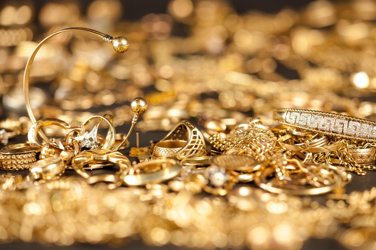 Gold hardening